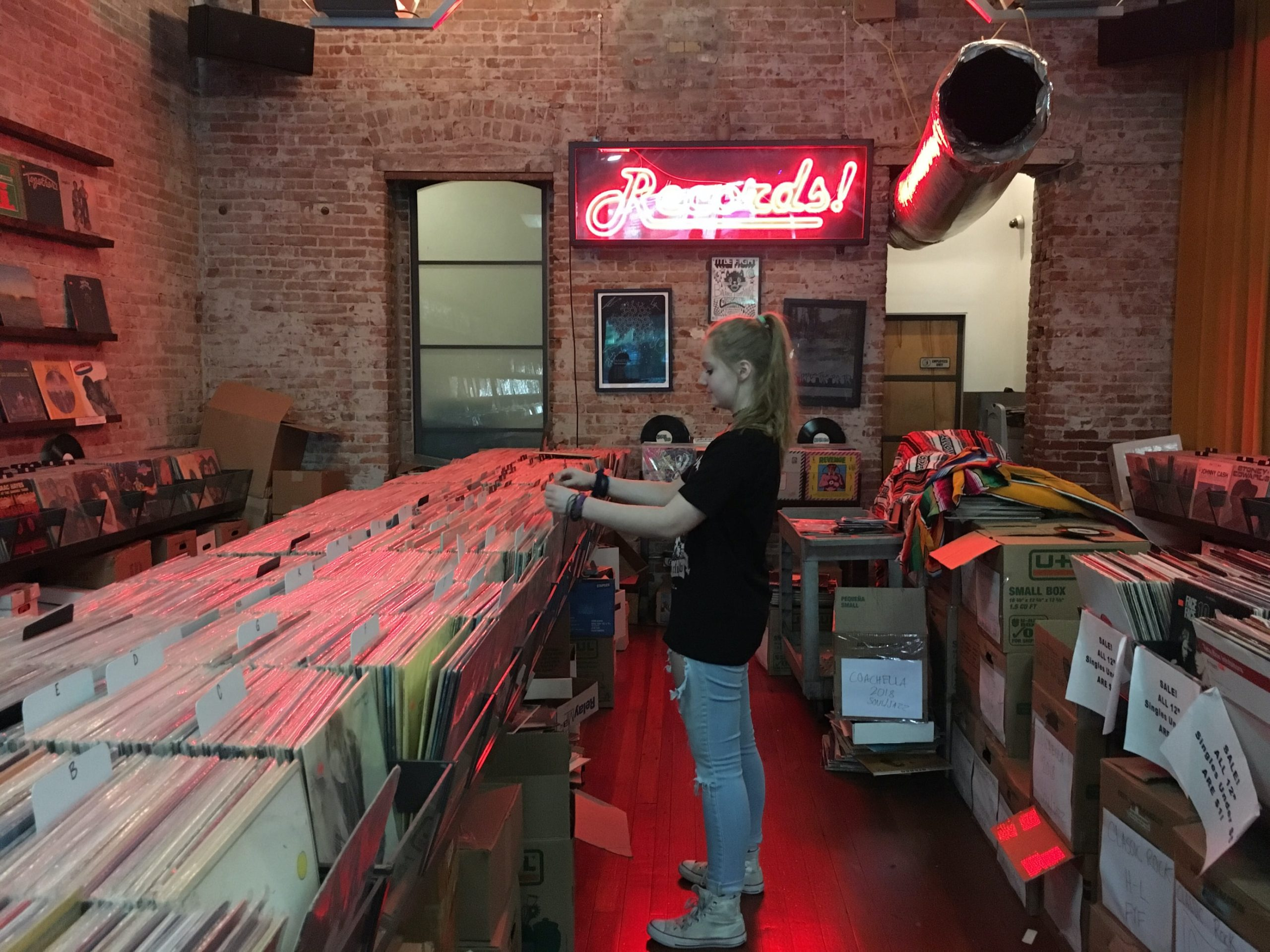 record store girl 1